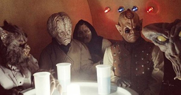 Star Wars bar scene 'inspired by night out in Newport'